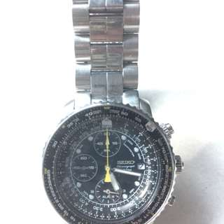 Seiko Chronograph Pilot Watch
