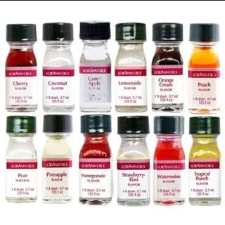 (instocks) LorAnn's oils and flavours