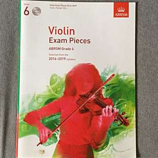 ABRSM Grade 6 Violin Exam Pieces