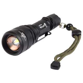 WindFire® S16 LED Rechargeable Flash Light XM-L2, IPX5