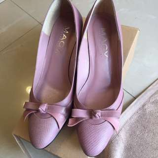 🚚 MAGY 耦紫色高跟鞋