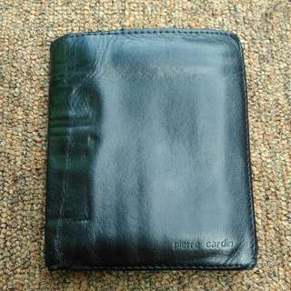 Pierre cardin paris leather wallet