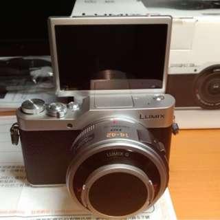 Panasonic 公司貨 GF9 +14-42mm X 電動變焦鏡組 (電池2顆、保固到2020/6)