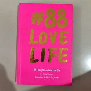 Quotes book 88 love life