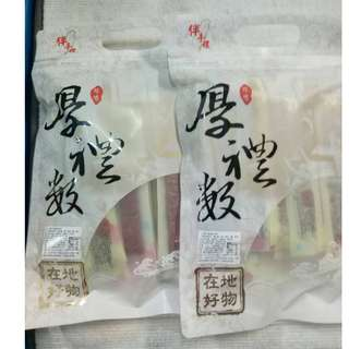 大誠百貨-(300g單賣240元)台中名店網紅名店厚禮數櫻花蝦豬肉條