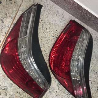 BMW 523 I tail lamp