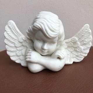 Porcelain statue