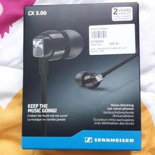 sennheiser earphone cx3 black