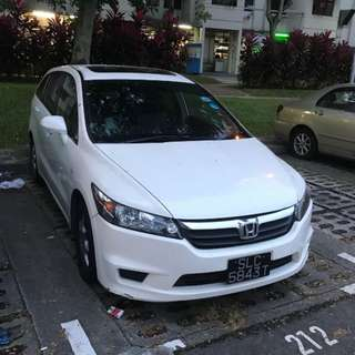 Honda Stream RN6 1.8A Sunroof