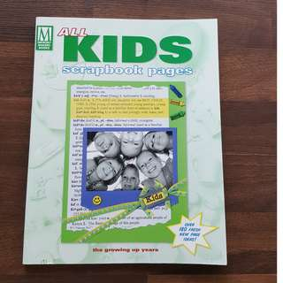 All Kids Scrapbook Pages