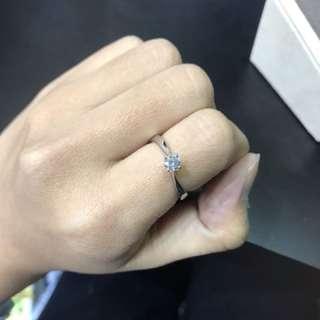 18K 750 white gold Ring