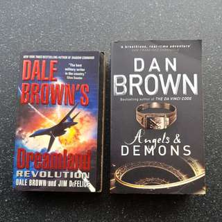 Dan Brown / Dale Brown - Angels & Demons , Dreamland Revolution