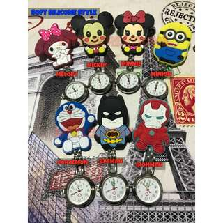 [ Buy1Free1* ] Cartoon / Cute Nurses' Watch