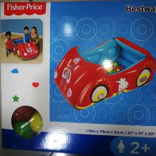 fisher price car ballon with free ball
