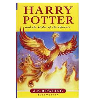 COLLECTIBLE ITEM: HARRY POTTER AND THE ORDER OF PHOENIX BOOK 5