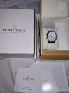 Authentic philip stein chronograph watch