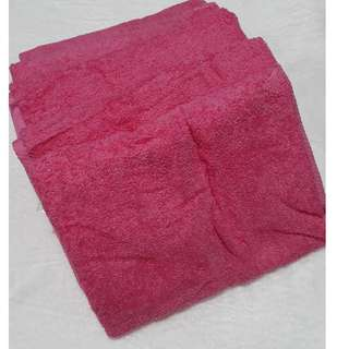 bath towel light pink