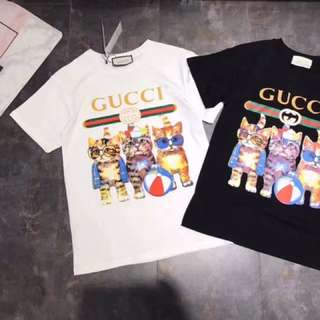 Gucci T👚 Black&White