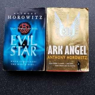Anthony Horowitz -Ark Angel & Evil Star