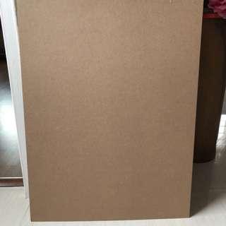 A3 hard board