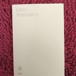 [TRADE] BTS ALBUM - LOVE YOURSELF 'O' VERSION