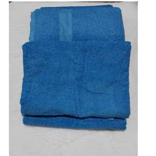bath towel light blue