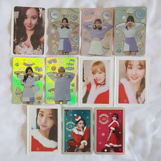 Twice Twicecoaster Lane 1 TT + Xmas photocard