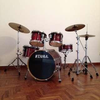 Pre-loved Drum Kit (TAMA)