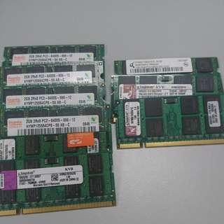 DDR2 Sodimm Laptop Rams