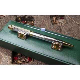 Pulpen Mewah Monte Mount MM001 Metal Pen With Cuff Links Luxury Box