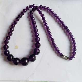 烏拉烏塔形紫水晶頸鏈
