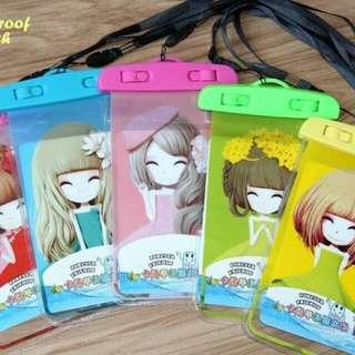 Kantong/Sarung HP Anti Air Model Girl Dolls