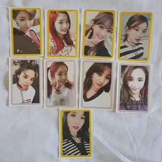 Twice Twicecoaster Lane 2 photocard + kkg