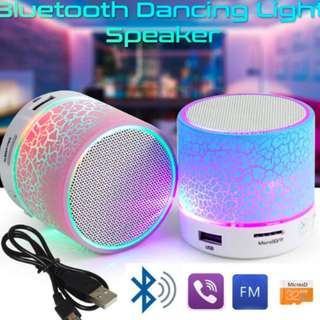 LED Portable Mini Bluetooth Speakers