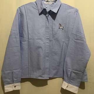 cropped shirt merk cottonink
