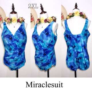 Miraclesuit Branded Plussize One Piece Swimsuit FM62