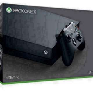 Xbox One X With 1 Year Local Microsoft Warranty