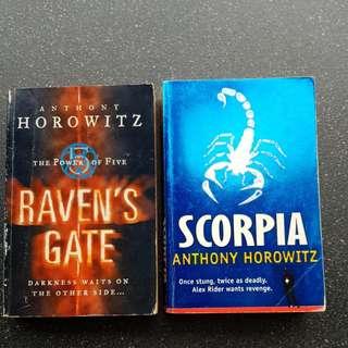 Anthony Horowitz- Scorpia & Raven's Gate