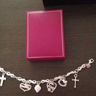 Silver 925 mark bracelet