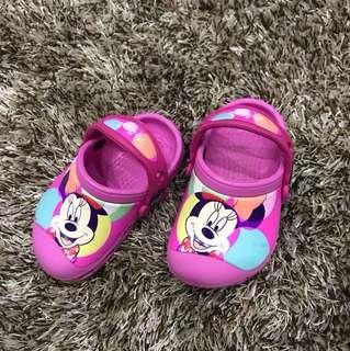 Mickey Pink Crocs