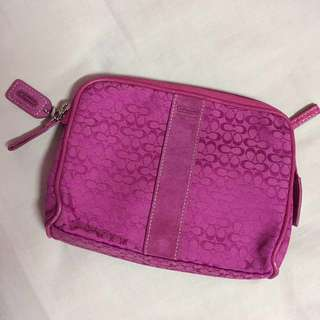 Authentic • COACH • Medium Pouch/ Makeup bag #midjan55