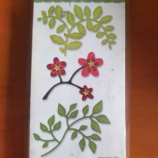 Sizzix- Flowers, branches & leaves set