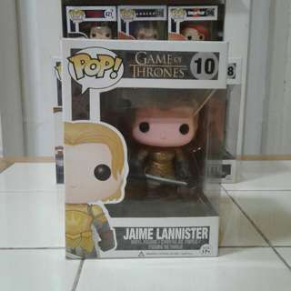 Funko Pop! Jaime Lannister game of thrones