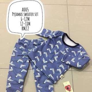 Baby sleepsuit pyjamas