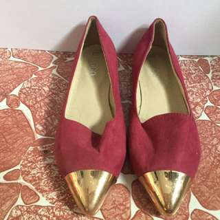 Maroon Comfy shoes