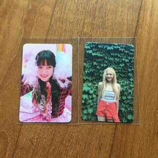 WTS Red Velvet Yeri Rookie/ Red Summer Photocard RM20 Per Piece