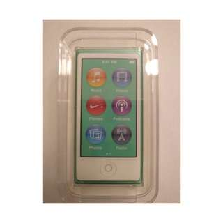 Brandnew Ipod Nano 16gb 7thGen (Green)