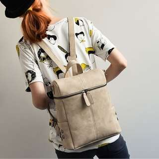 Casual Leather 2 Way Bag