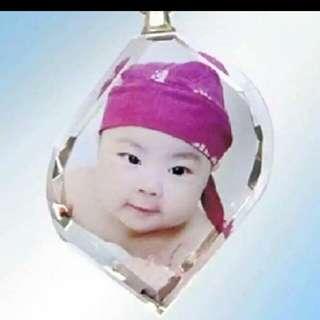 Customize Crystal photos