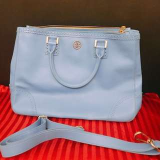 Tory Burch Big Tote - Tiffany Blue